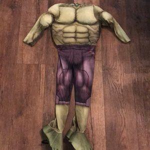 🎃 Hulk suit